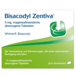 Bisacodyl Zentiva® magensaftresistente Tabletten