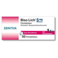 Biso Lich 5 mg Filmtabletten