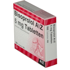 Bisoprolol Abz 5 mg Tabletten