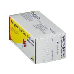 Bisoprolol Dura P 10/25 mg Filmtabletten
