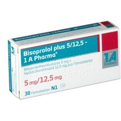 BISOPROLOL plus 5/12,5 1A Pharma Filmtabletten