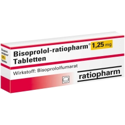 BISOPROLOL-RAT 1.25MG TAB
