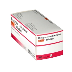 Bisoprolol-Ratiopharm 10 mg Tabletten