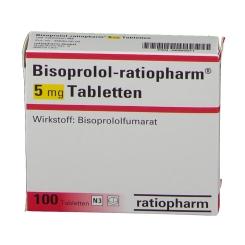 Bisoprolol-Ratiopharm 5 mg Tabletten