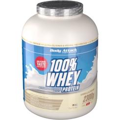 Body Attack 100 % Whey Protein Vanilla Pulver
