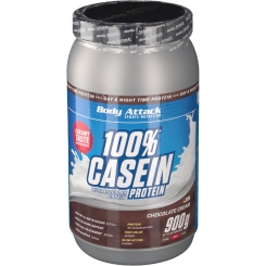 Body Attack Casein Protein Chocolate Cream