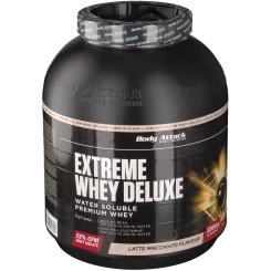 Body Attack Extreme Whey Deluxe Latte Macchiato Pulver
