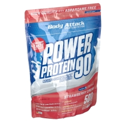 Body Attack Power Protein 90 Strawberry Cream