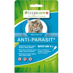 bogacare Anti-Parasit Spot-on für Katzen