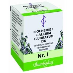 Bombastus Biochemie 1 Calcium fluoratum D 6 Tabletten