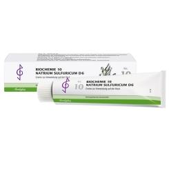 Bombastus Biochemie 10 Natrium sulfuricum D 6 Creme