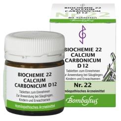Bombastus Biochemie 22 Calcium carbonicum D 12 Tabletten