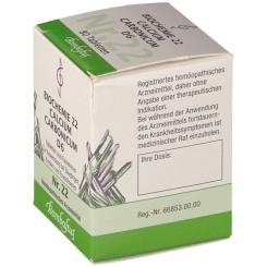 Bombastus Biochemie 22 Calcium carbonicum D 6 Tabletten