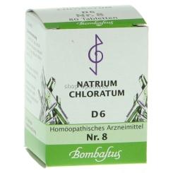 Bombastus Biochemie 8 Natrium chloratum D 6 Tabletten