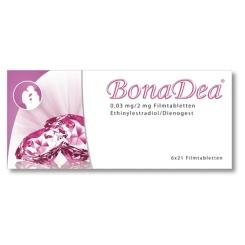 BonaDea 0,03 mg/2 mg Filmtabletten
