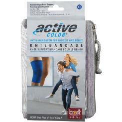 BORT ActiveColor® Kniebandage Gr. XL blau