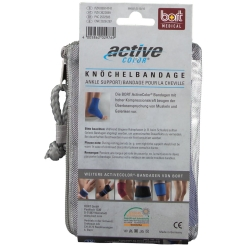 BORT ActiveColor® Knöchelbandage Gr. XL blau