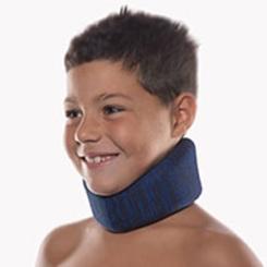 BORT Cervicalstütze Kinder Kinnhöhe 6 cm blau
