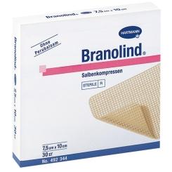 Branolind 7,5x10cm Kompressen 492344