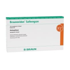 Braunovidon® Salbengaze 10x20 cm