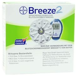 BREEZE® 2 Sensorenscheibe Teststreifen