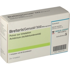 BRETARIS GENUAIR 322 µg Pulver z.Inhalation 1x60ED
