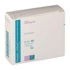BRINZOLAMID 1A Pharma 10 mg/ml Augentropfensusp.