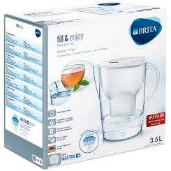 BRITA® fill & enjoy Marella Wasserfilter 3,5 Liter weiß