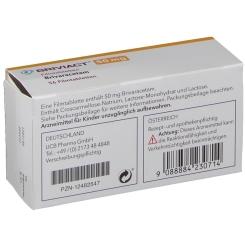BRIVIACT 50 mg Filmtabletten