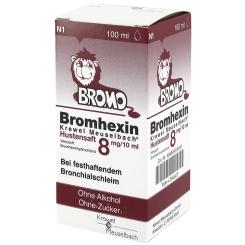 Bromhexin Krewel Meuselbach® Hustensaft 8mg/10ml