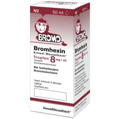 Bromhexin Krewel Meuselbach® Tropfen 8mg/ml