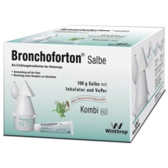 Bronchoforton® Salbe mit Inhalator und VaPor