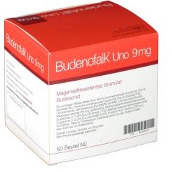 BUDENOFALK Uno 9 mg magensaftresistent.Granulat