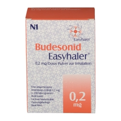 BUDESONID Easyhaler 0,2 mg 120 Hub Inhalationsplv.