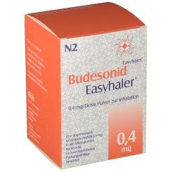 BUDESONID Easyhaler 0,4 mg 200 Hub Inhalationsplv.
