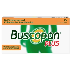 Buscopan® PLUS Zäpfchen