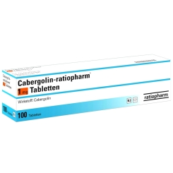 CABERGOLIN ratiopharm 1 mg Tabletten