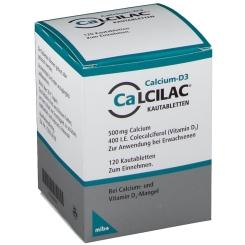Calcilac® Kautabletten 500 mg/400 I.E.