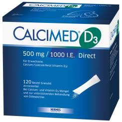 CALCIMED® D3 500mg / 1000 I.E. Direct