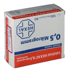 CALCITRIOL HEXAL 0.5UG WKA