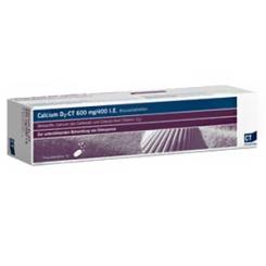 Calcium D3-CT Brausetabletten