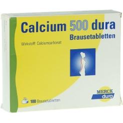 Calcium-dura® 500 Brausetabletten