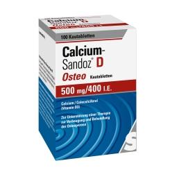 Calcium-Sandoz® D Osteo 500 mg/ 400 I.E.
