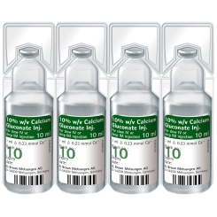 Calciumgluconat 10 % Injektionslösung
