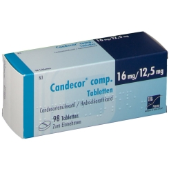 CANDECOR comp. 16 mg/12,5 mg
