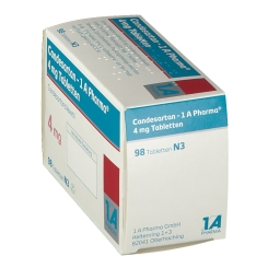 CANDESARTAN 1A Pharma 4 mg Tabletten