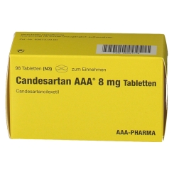 CANDESARTAN AAA 8 mg Tabletten