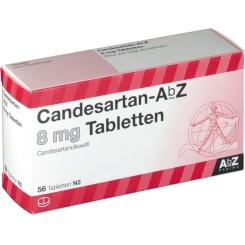CANDESARTAN AbZ 8 mg Tabletten