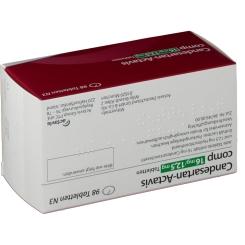 CANDESARTAN Actavis comp 16 mg/12,5 mg