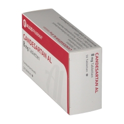 CANDESARTAN AL 8 mg